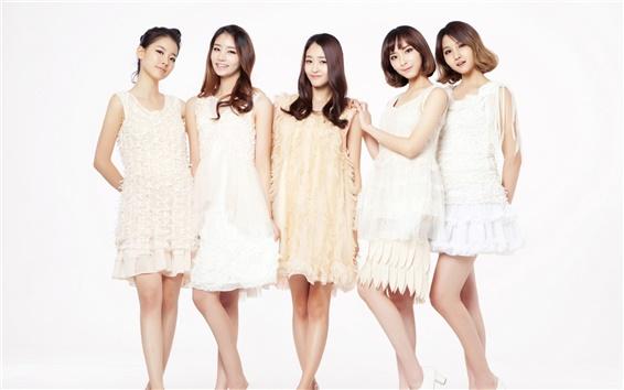Fond d'écran CHI CHI groupe de filles de musique coréenne 07