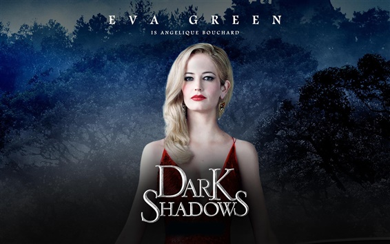 Fondos de pantalla Eva Green en Dark Shadows