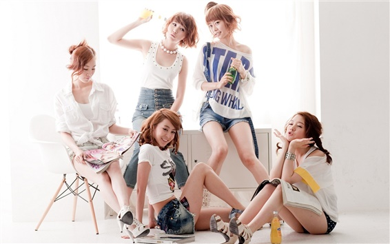 Wallpaper Girl's Day, Korea music girls 03
