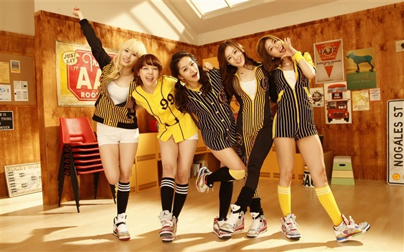 Fondos de pantalla Día de la muchacha, Corea chicas de la música 05