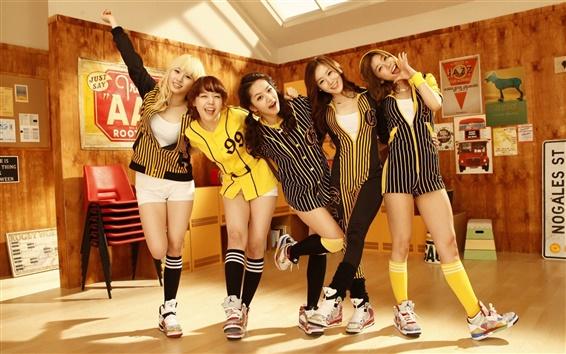 Обои День девушки, девочки Корея музыки 05