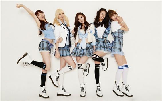 Papéis de Parede Dia da menina, Coréia música meninas 06