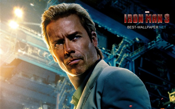 Fond d'écran Guy Pearce dans Iron Man 3