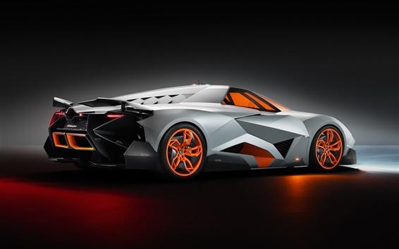 Обои Lamborghini суперкар Egoista 2013 вид сбоку