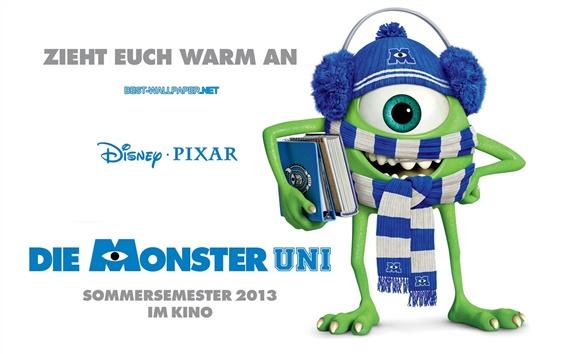 Wallpaper Monsters University, Strange one-eyed Mike