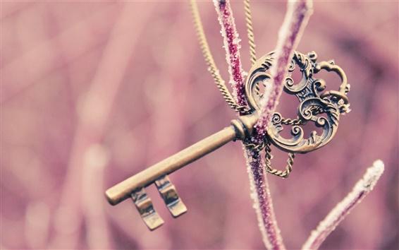 Wallpaper Mysterious key
