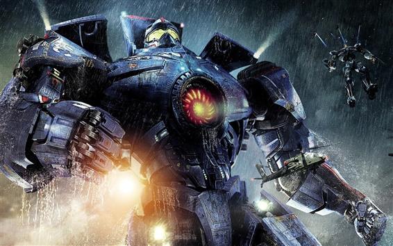 Fondos de pantalla Pacific Rim, robot guerrero