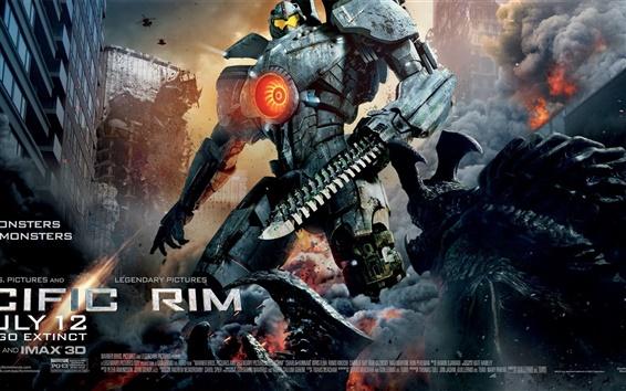 Papéis de Parede Pacific Rim, o herói robô