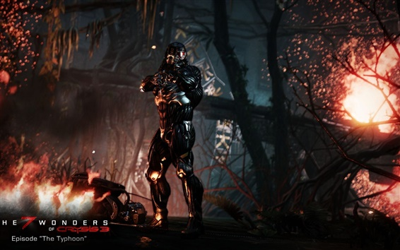 Wallpaper The 7 Wonders of Crysis 3, Episode The Typhoon HD