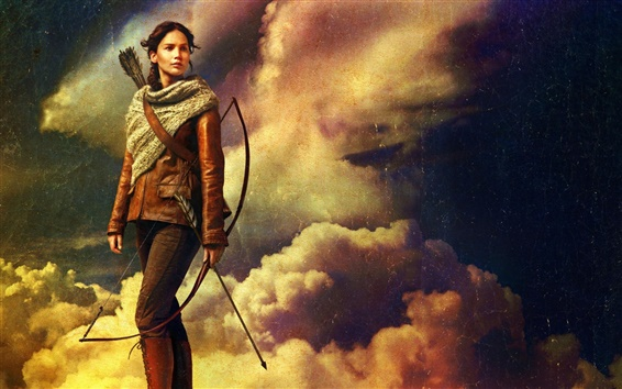 Wallpaper The Hunger Games: Catching Fire HD