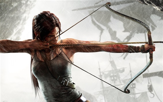 Wallpaper Tomb Raider, Ready to fly