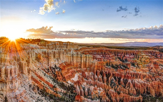 Обои США, штат Юта, Bryce Canyon National Park
