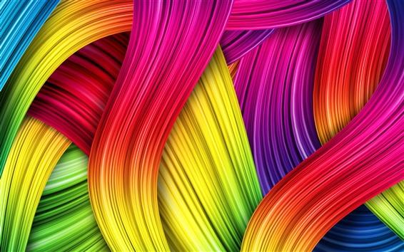 Fond d'écran Résumé des couleurs, fond coloré