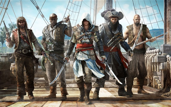 Papéis de Parede Assassins Creed 4: Black Flag 2013