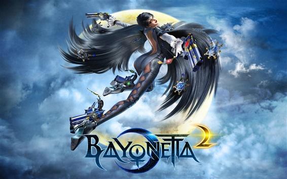Fondos de pantalla Bayonetta 2 juego 2014
