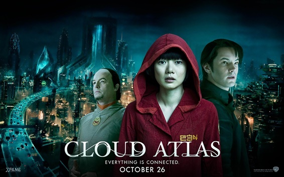 Wallpaper Cloud Atlas HD