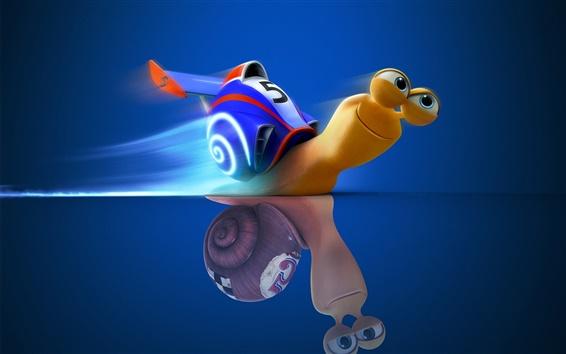 Wallpaper DreamWorks movie Turbo