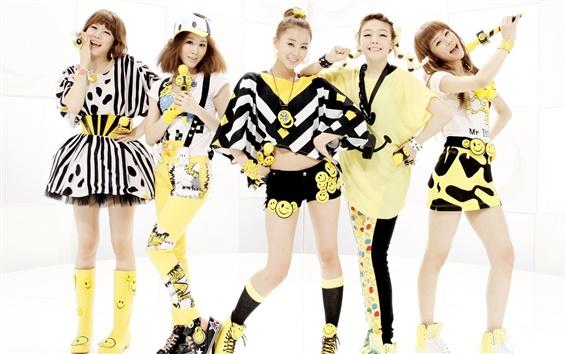 Fondos de pantalla Día de la muchacha, Corea chicas de la música 07