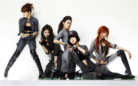 Fond d'écran Le jour de la fille, la Corée filles de musique 08