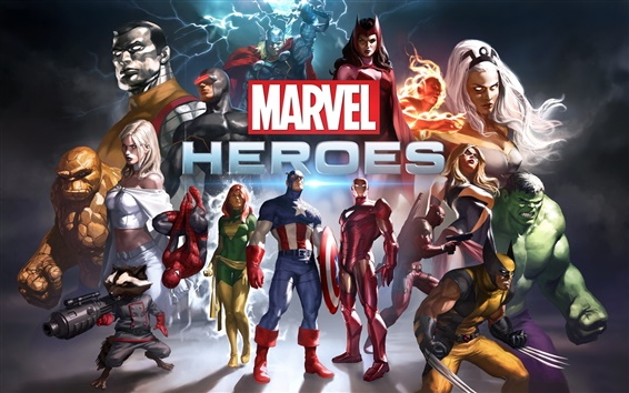 Wallpaper Marvel Heroes HD