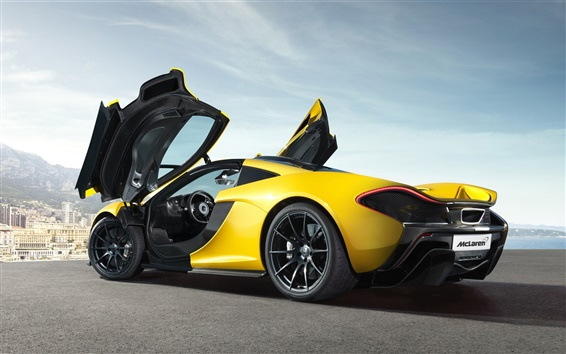 Обои McLaren P1 суперкар HD