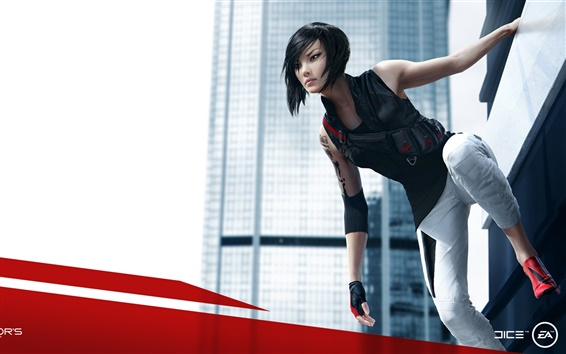 Wallpaper Mirror's Edge 2