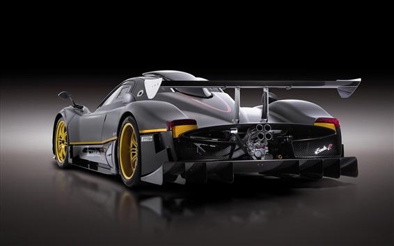 Wallpaper Pagani Zonda-R sports car