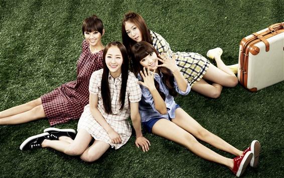 Wallpaper SISTAR, asia, korean, music girls
