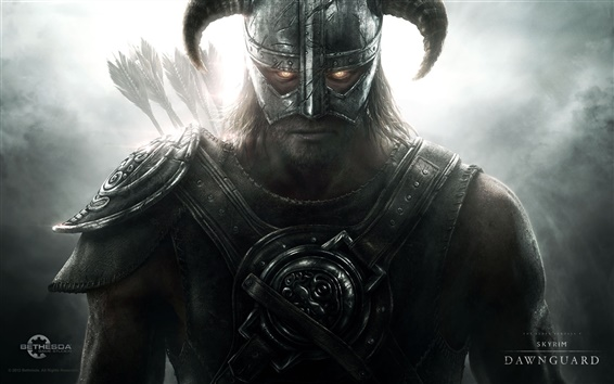Wallpaper Skyrim: Dawnguard