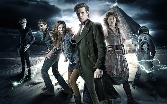 Wallpaper TV series, Doctor Who