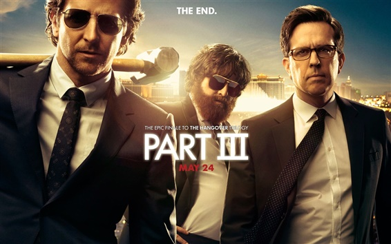 Wallpaper The Hangover Part III