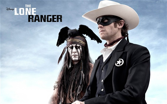 Wallpaper The Lone Ranger