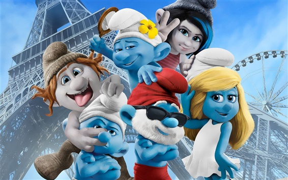 Wallpaper The Smurfs 2 HD