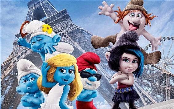 Wallpaper The Smurfs 2 movie 2013