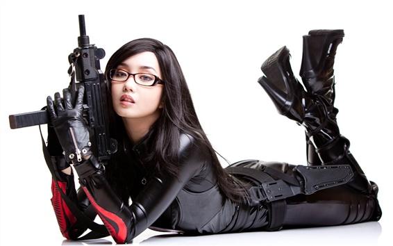 Wallpaper Cosplay girl, Alodia Gosiengfiao 01