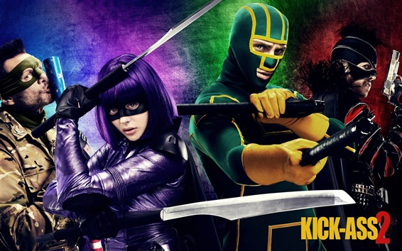 Fondos de pantalla Kick-Ass 2 HD