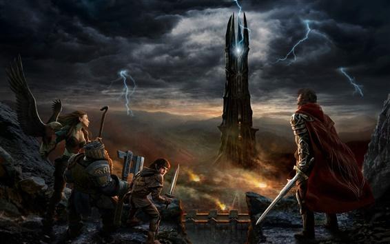 Обои Властелин Кольца онлайн: Восстание Изенгарде