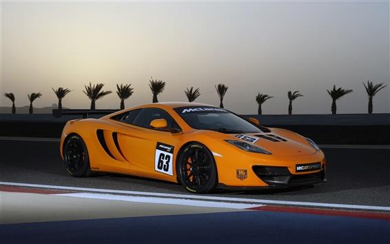 Wallpaper McLaren 12C GT Sprint 2013