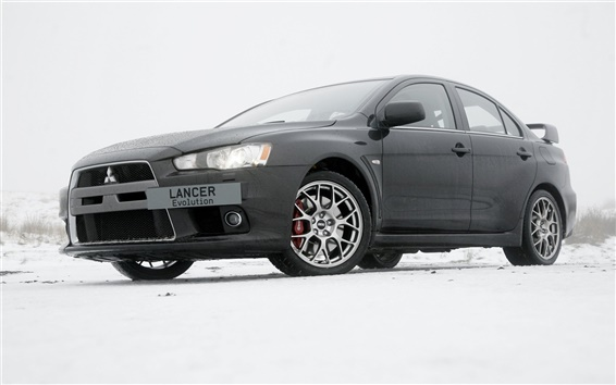 Wallpaper Mitsubishi Lancer EVO supercar