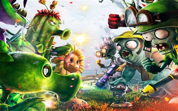 Fondos de pantalla Plants vs Zombies 2