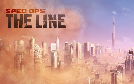 Wallpaper Spec Ops: The Line HD