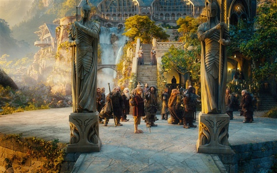 Wallpaper The Hobbit: An Unexpected Journey 2