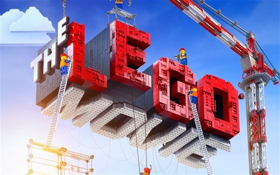 Wallpaper The Lego Movie 2014