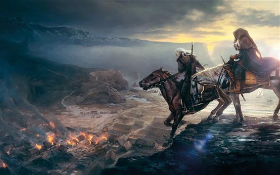 Wallpaper The Witcher 3: Wild Hunt 2013