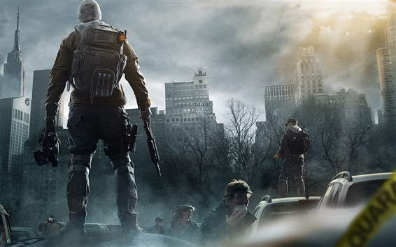 Wallpaper Tom Clancy's The Division