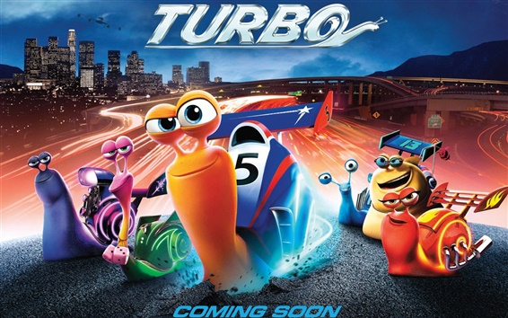 Wallpaper Turbo 3D movie, coming soon