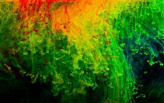 壁紙 抽象化の背景、赤、緑、テクスチャ