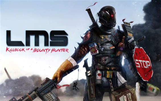 Wallpaper LMS Bounty Hunter