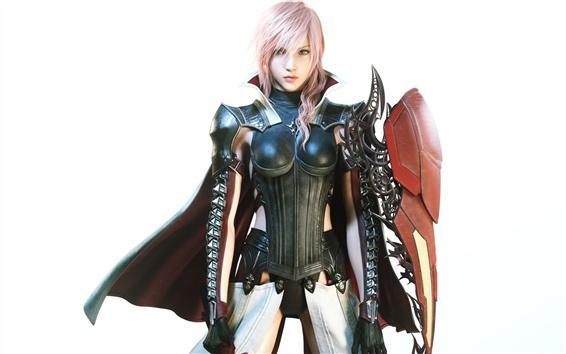 Wallpaper Lightning Returns: Final Fantasy XIII, warrior girl