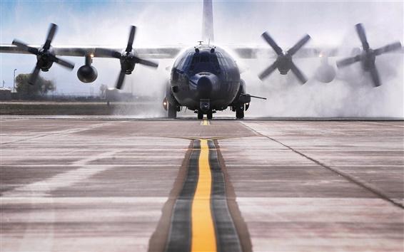 Fondos de pantalla AC-130W Stinger aviones de despegue II